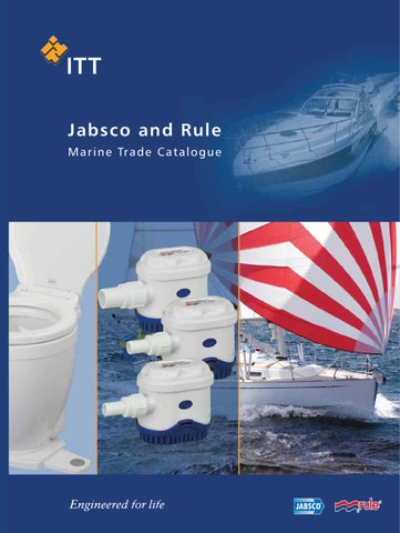Marine 24-35A Rule Combo Round Bilge Pump and Float Switch  360 GPH