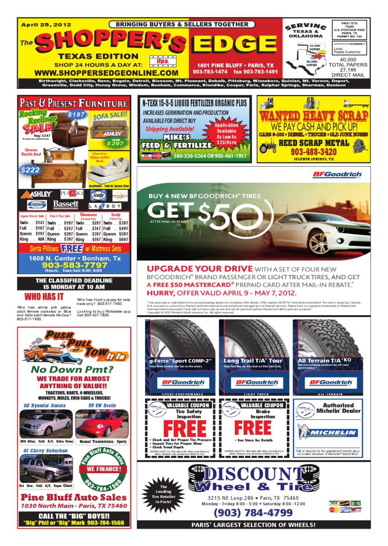 Shopper's Edge 04-25-12 Issue by Shopper's Edge - issuu
