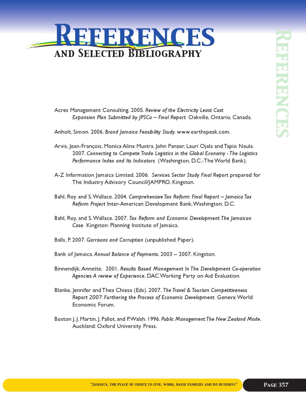 Bibliography Web By DiG Jamaica