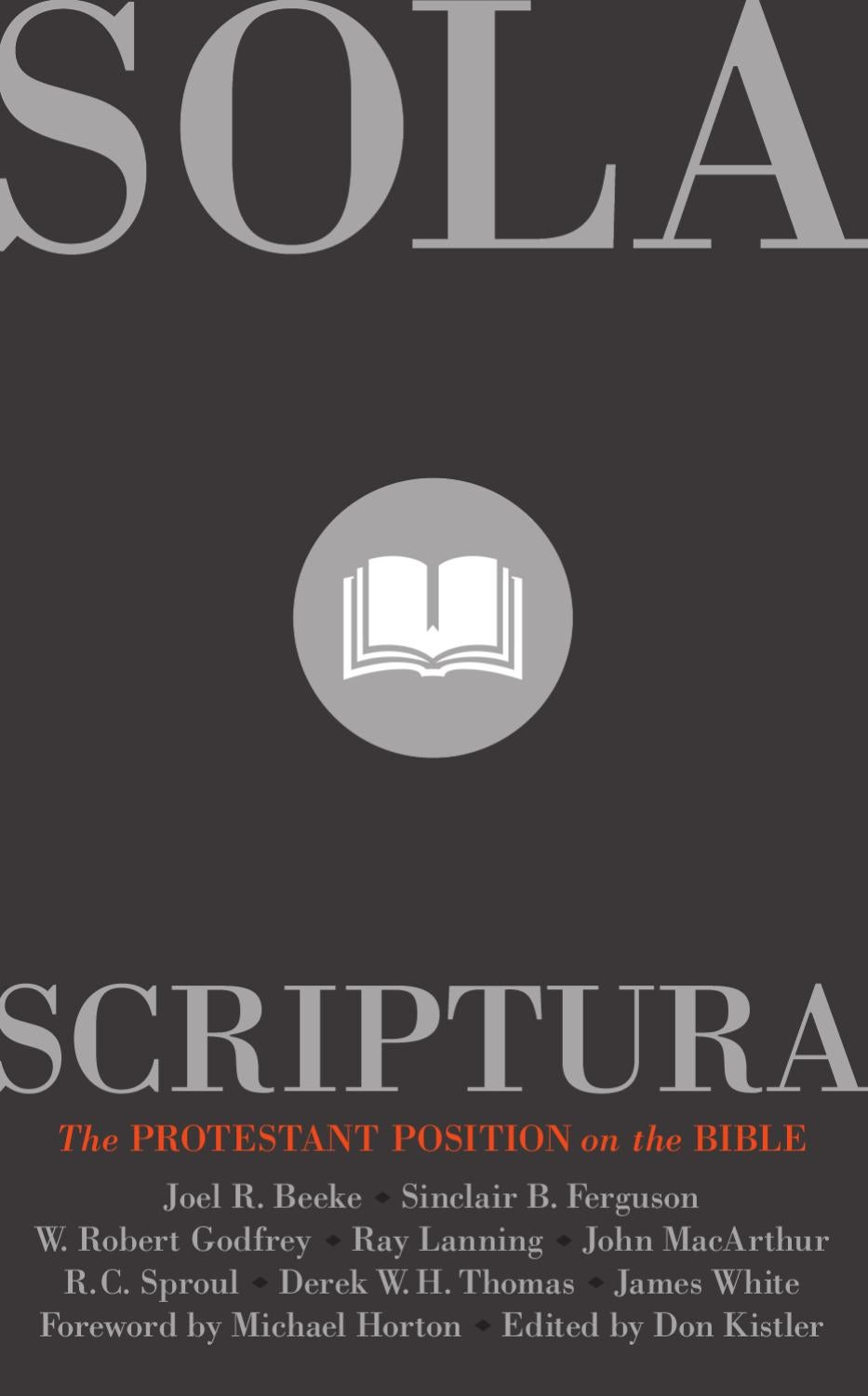 Image result for sola scriptura reformation trust