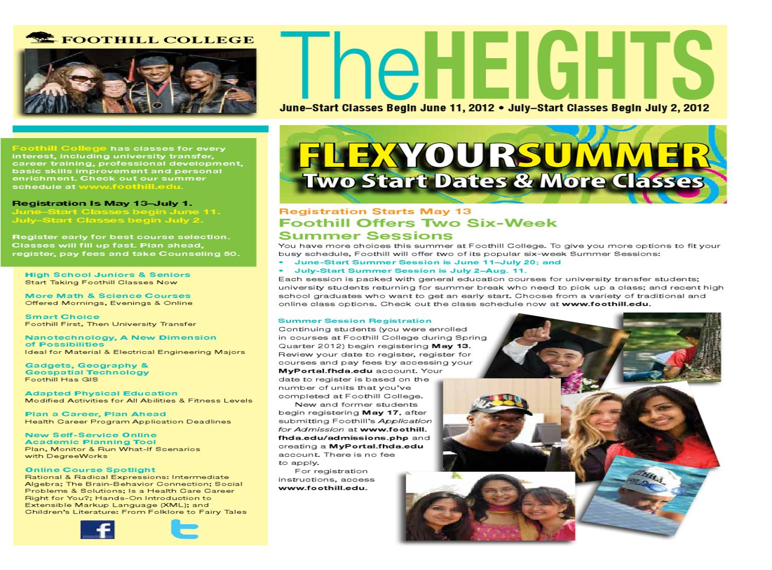 The Heights Summer 2012 By Foothill College Issuu