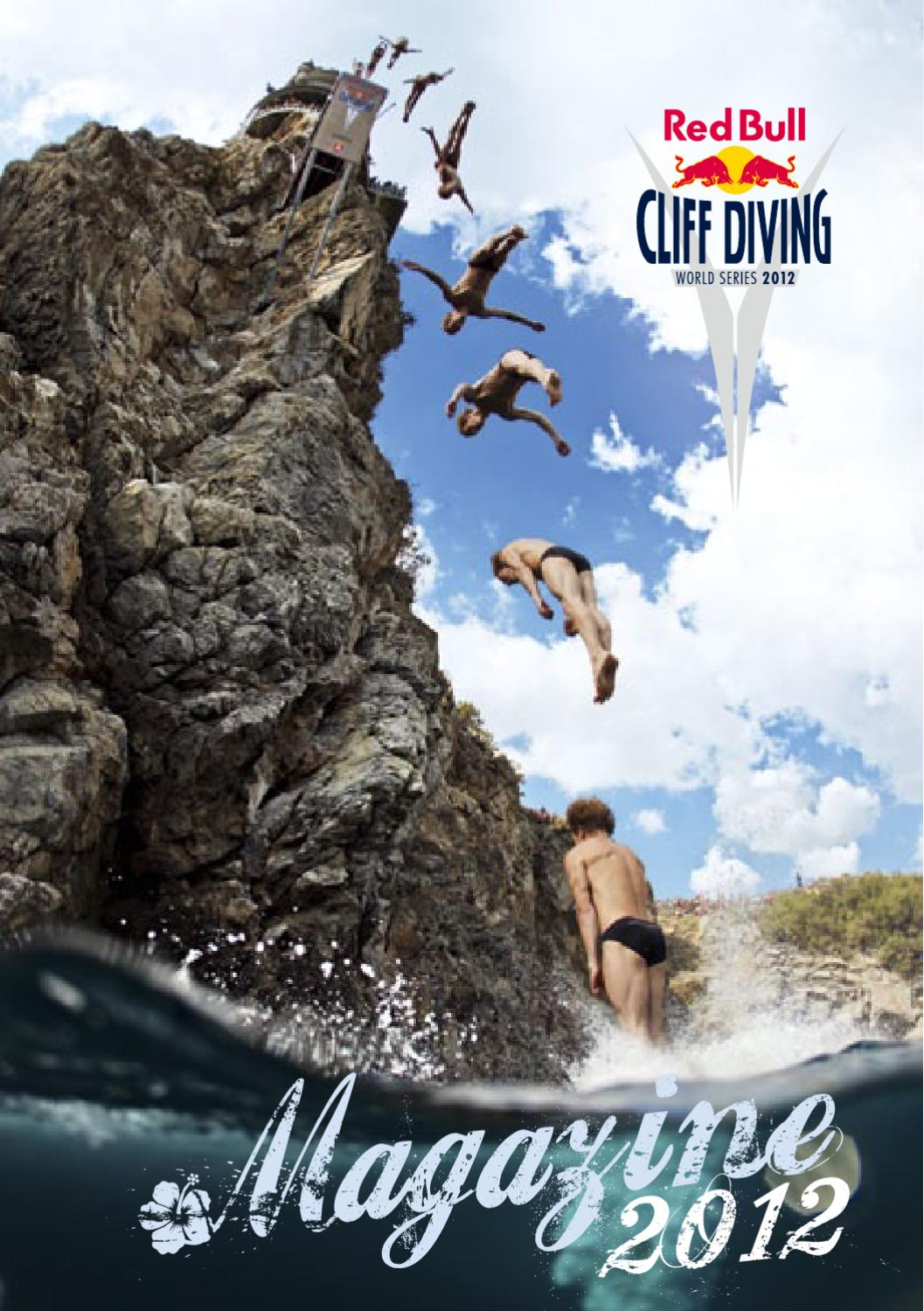 Red bull cliff diving magazine 2012 by red bull media house issuu - Highest cliff dive ...