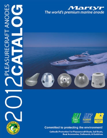 Volvo Penta Marine 280 Outdrive Corrosion Control Aluminum Anode Kit New