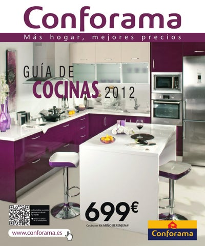 Cat logo conforama cocinas 2012 by issuu for Cocinas malaga precios