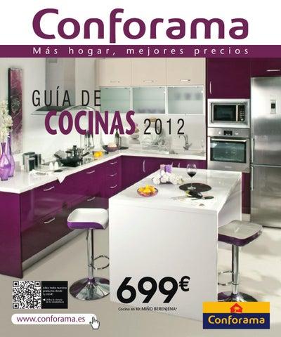 Mesas De Cocina Extensibles Conforama.Catalogo Conforama Cocinas 2012 By Milyuncatalogos Com Issuu