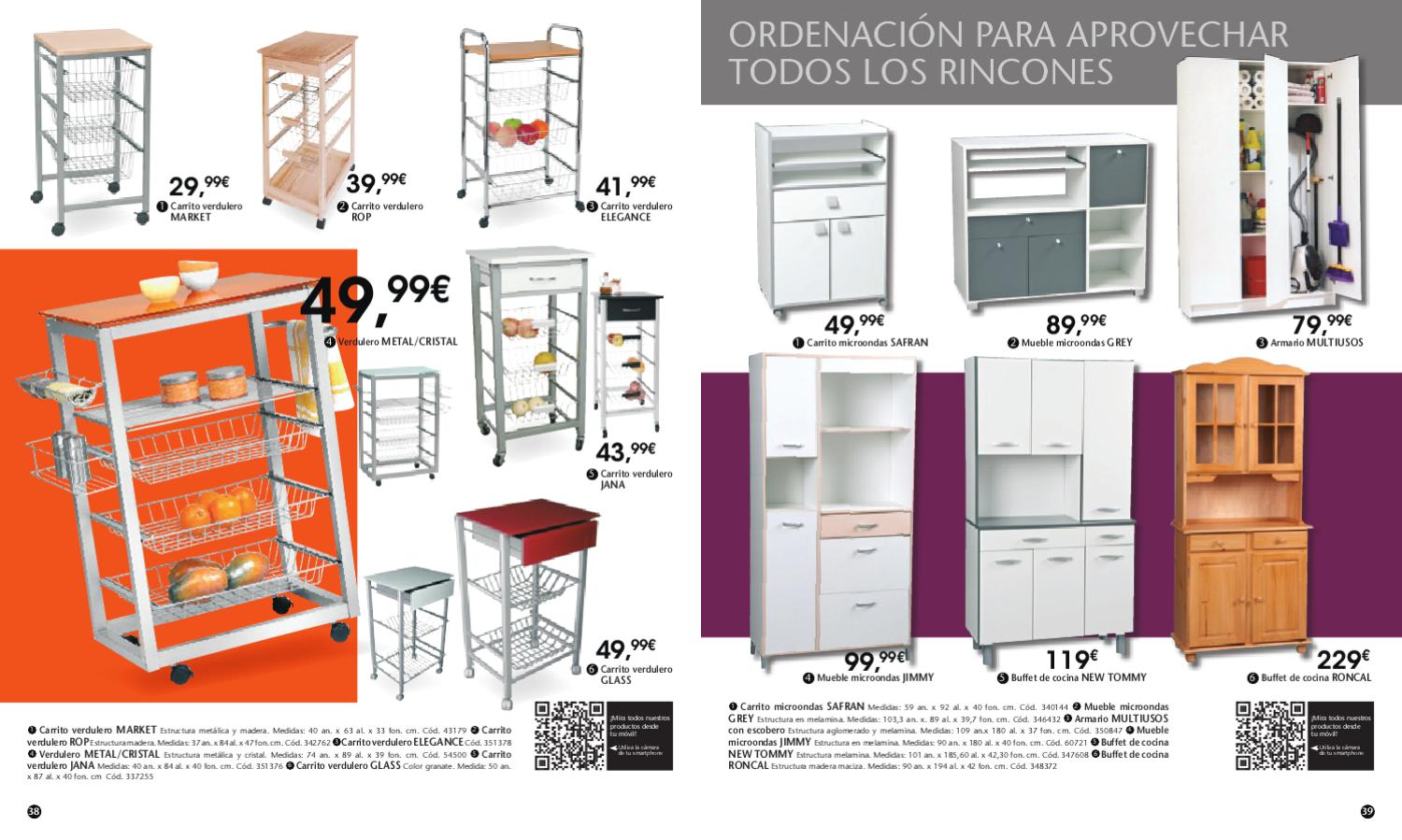 Cat logo conforama cocinas 2012 by issuu for Muebles verduleros