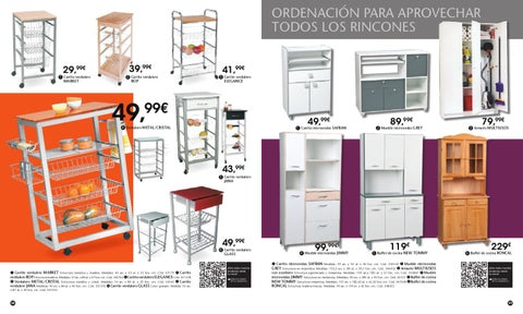 Cat logo conforama cocinas 2012 by issuu - Buffet cocina conforama ...