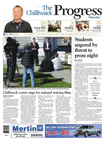 b7477f6d Chilliwack Progress, April 26, 2012 by Black Press Media Group - issuu