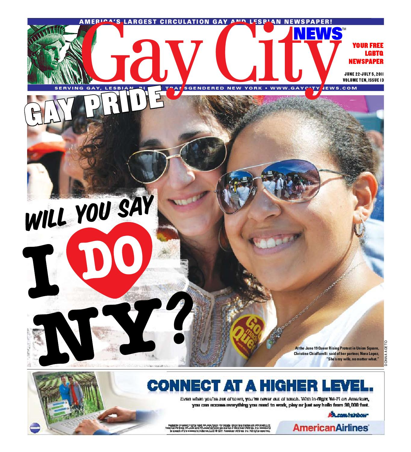 Gay City News 2011 Pride Issue By Schneps Media Issuu Eric schweig was born on june 19, 1967, in inuvik, northwest territories, canada. gay city news 2011 pride issue by