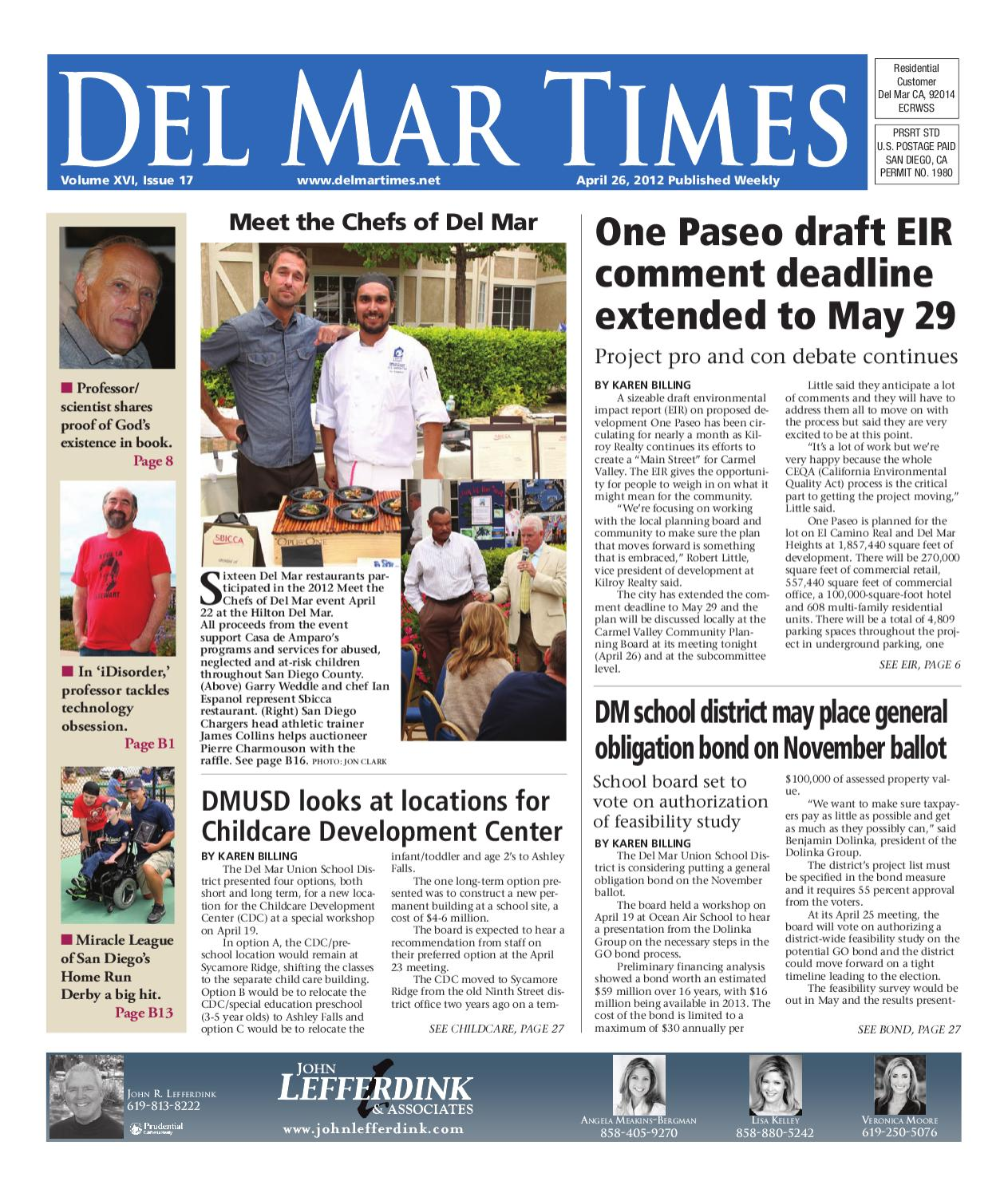del mar times 4 26 12 by mainstreet media issuu