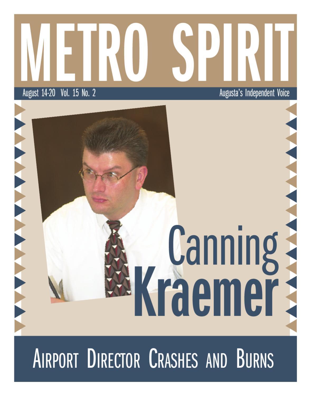 Metro Spirit 08142003 By