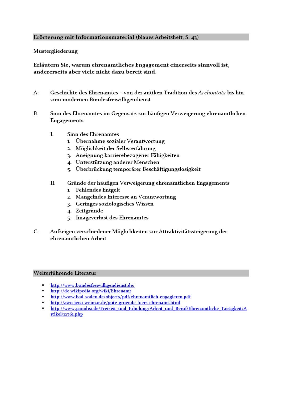 mustergliederung ehrenamt by richard salzmann issuu - Erorterung Gliederung Beispiel