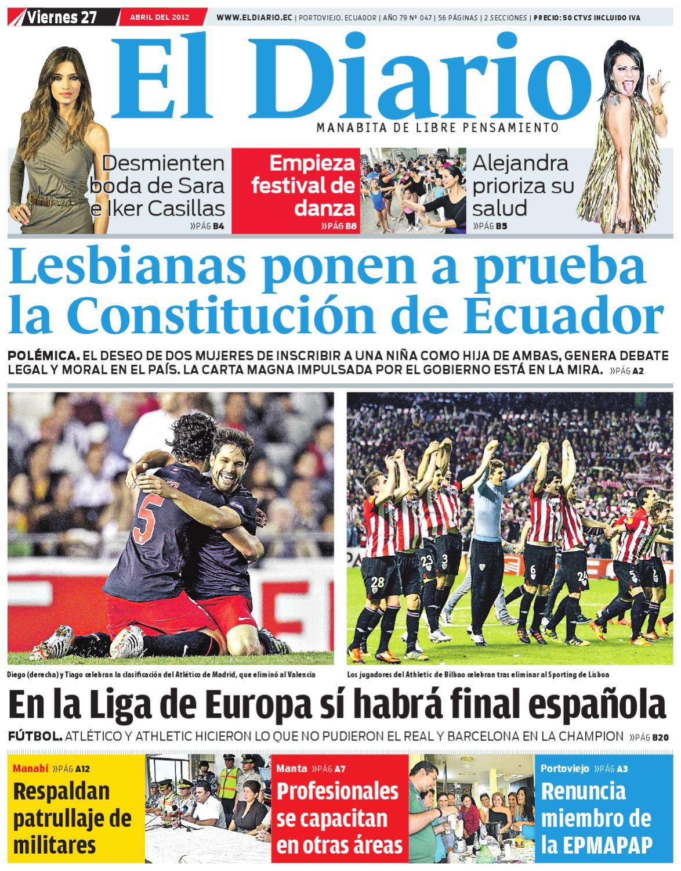 el diario viernes 27 de abril del 2012 by EDIASA - issuu