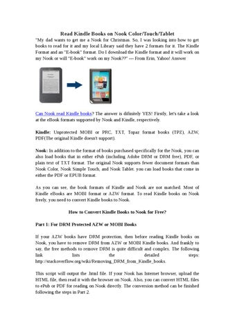 hwo to read pdf in kindle