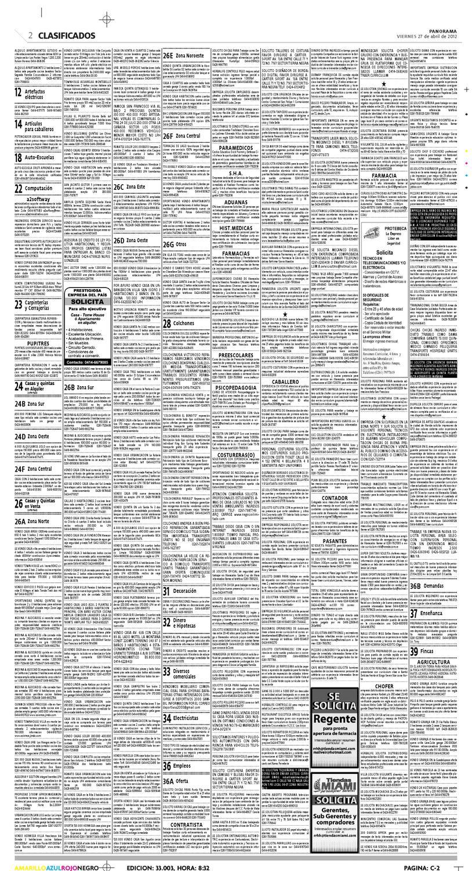 Clasificados 27 de abril de 2012 by Diario Panorama - issuu