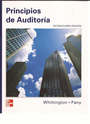 DE WHITTINGTON PDF PANY AUDITORIA PRINCIPIOS