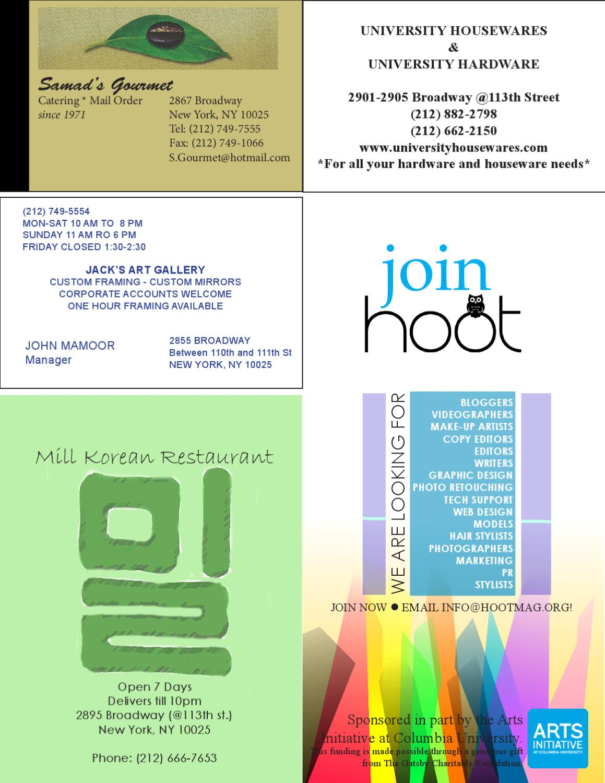 Hoot Magazine: Spring/Summer 2012 by hoot magazine - issuu