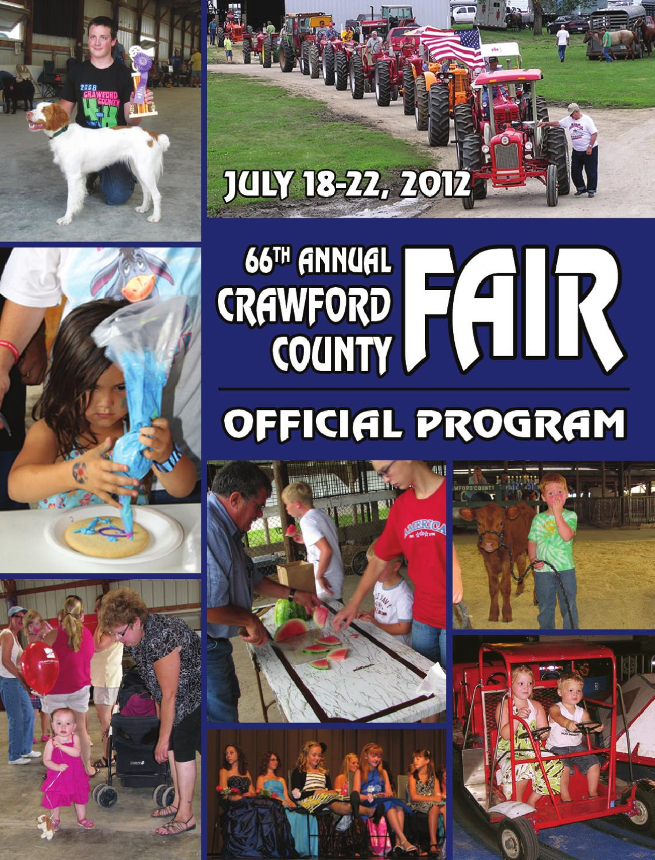 2012 Crawford County Fair Official Program