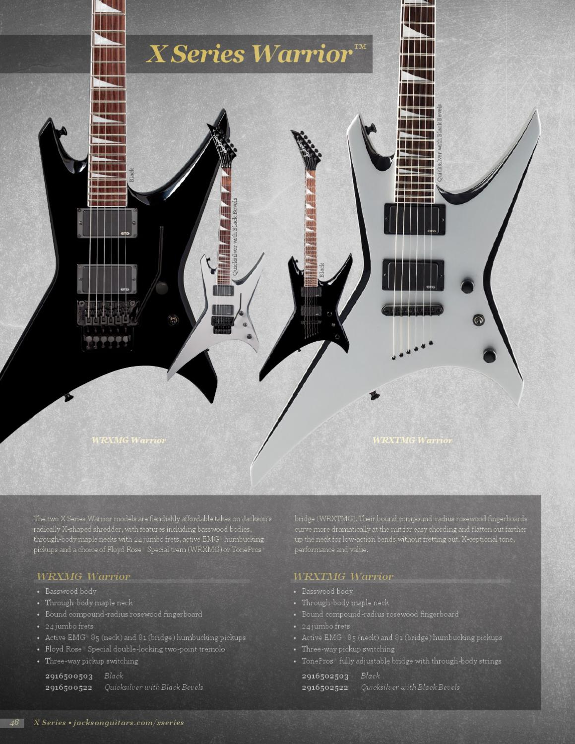 Jackson Guitars With Active Pickups Diagram Electric In Addition Emg Wiring Diagrams Catalog Issuu 1159x1500