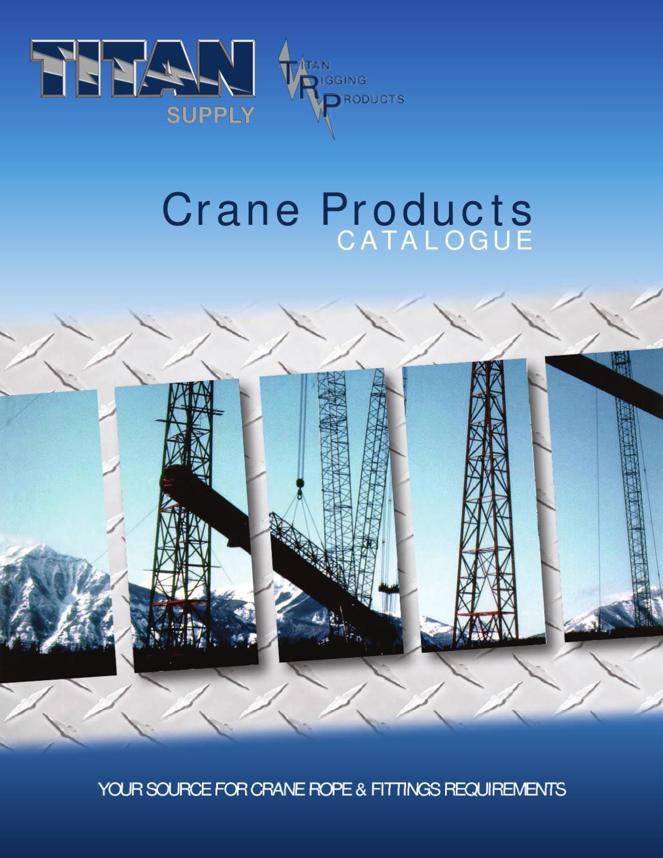 Titan Supply Crane Catalogue by Teresa Brown - issuu
