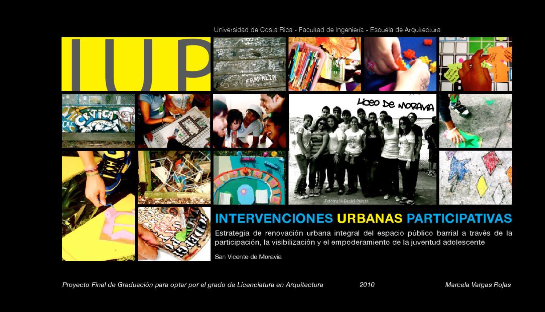 Intervenciones Urbanas Participativas by Marcela Vargas Rojas - issuu