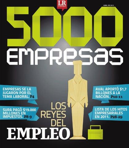 5000 Empresas by Diario La República - issuu 579d823a86d