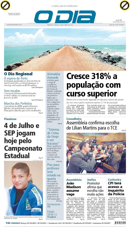 166434f38b jornal o dia by Jornal O Dia - issuu