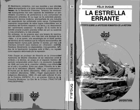 Felix Errante Estudios Estrella La Apoteosis Sobre Duque drtQsh