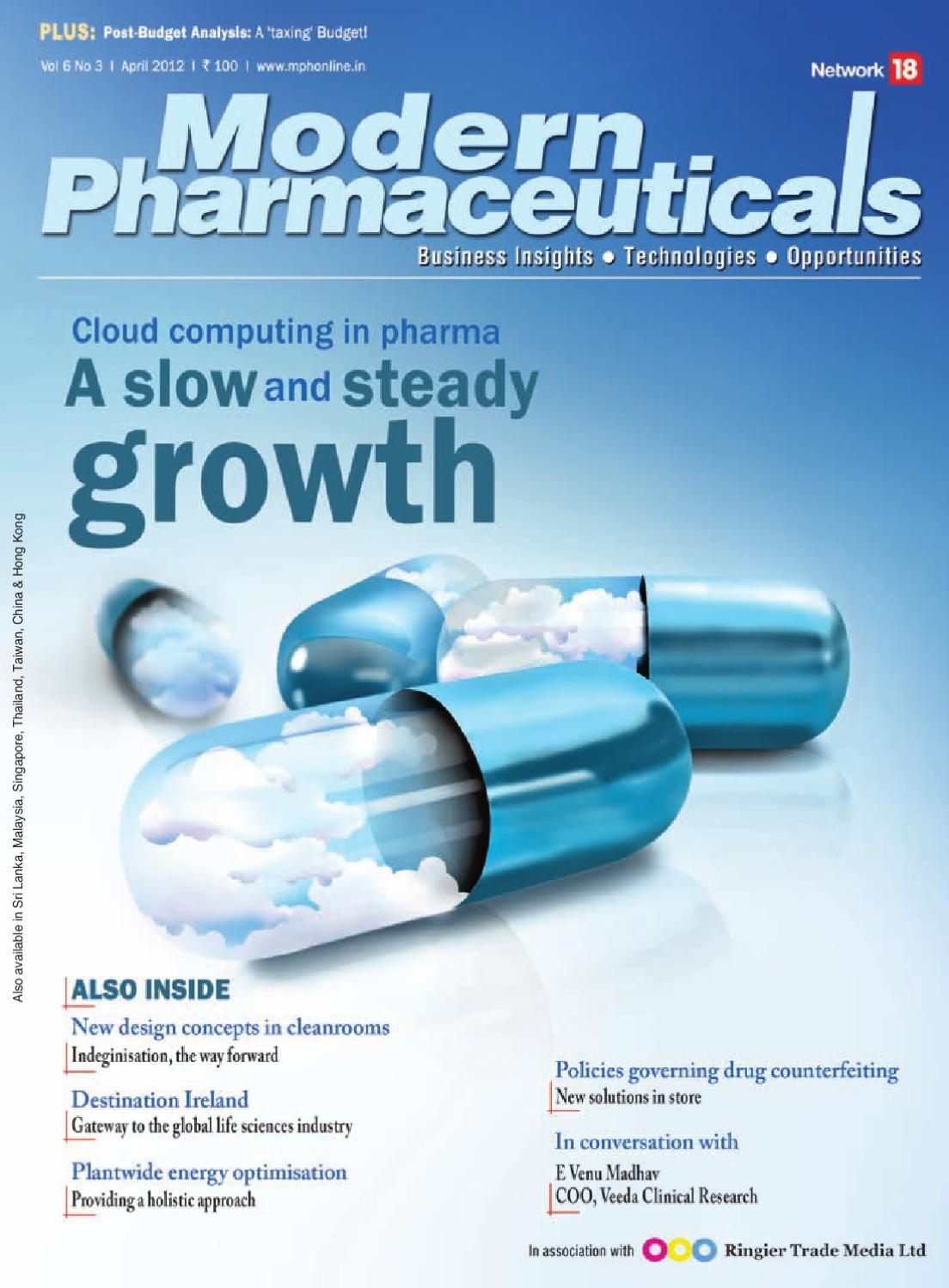 Modern Pharmaceuticals - April 2012 by Infomedia18 - issuu