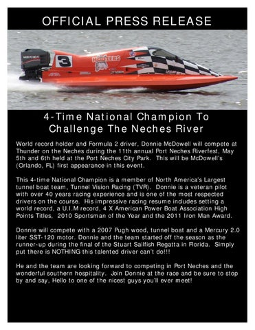 4-Time National Champion To Challenge The Neches River by Tammy Wolf ...