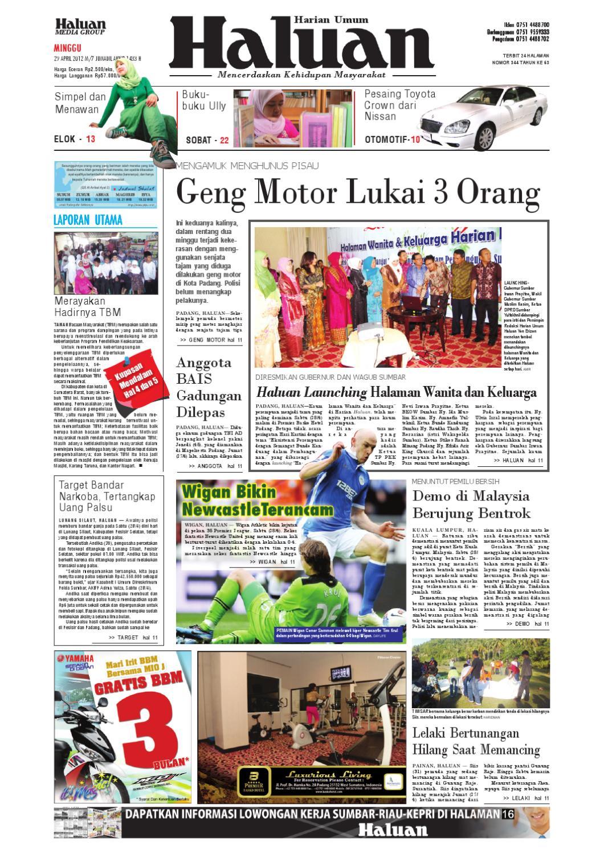 Haluan 29 April 2012 by Harian Haluan - issuu 7ff9d84f8c