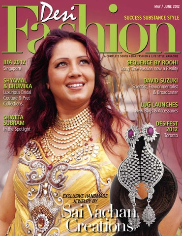 DESI FASHION MAY/JUNE 2012 ISSUE - 18