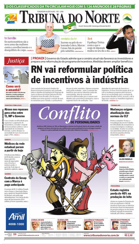 Tribuna do Norte - 29 04 2012 by Empresa Jornalística Tribuna do Norte Ltda  - issuu 1beb1fd017912