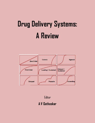 Drug Delivery Systems: A Review