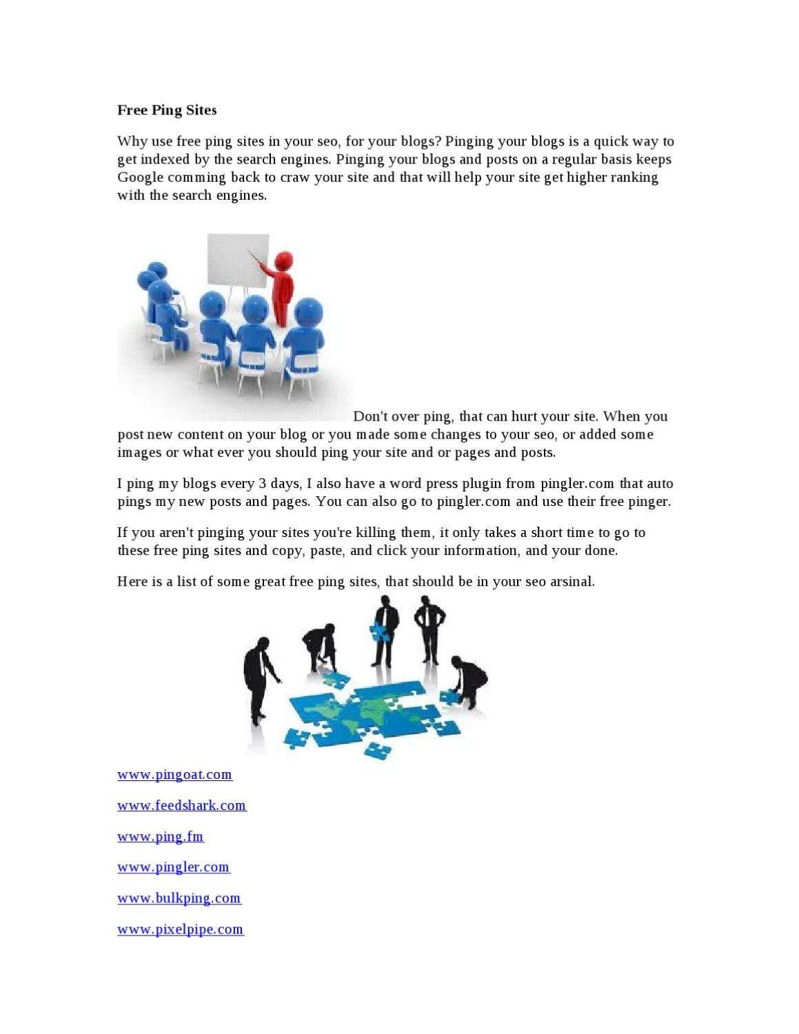 Free Ping Sites by William Early - issuu