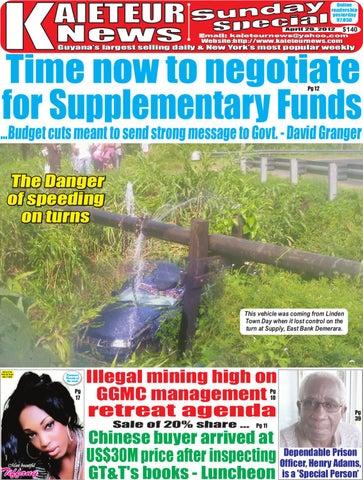 e9a891402eb Kaieteur News by GxMedia - issuu