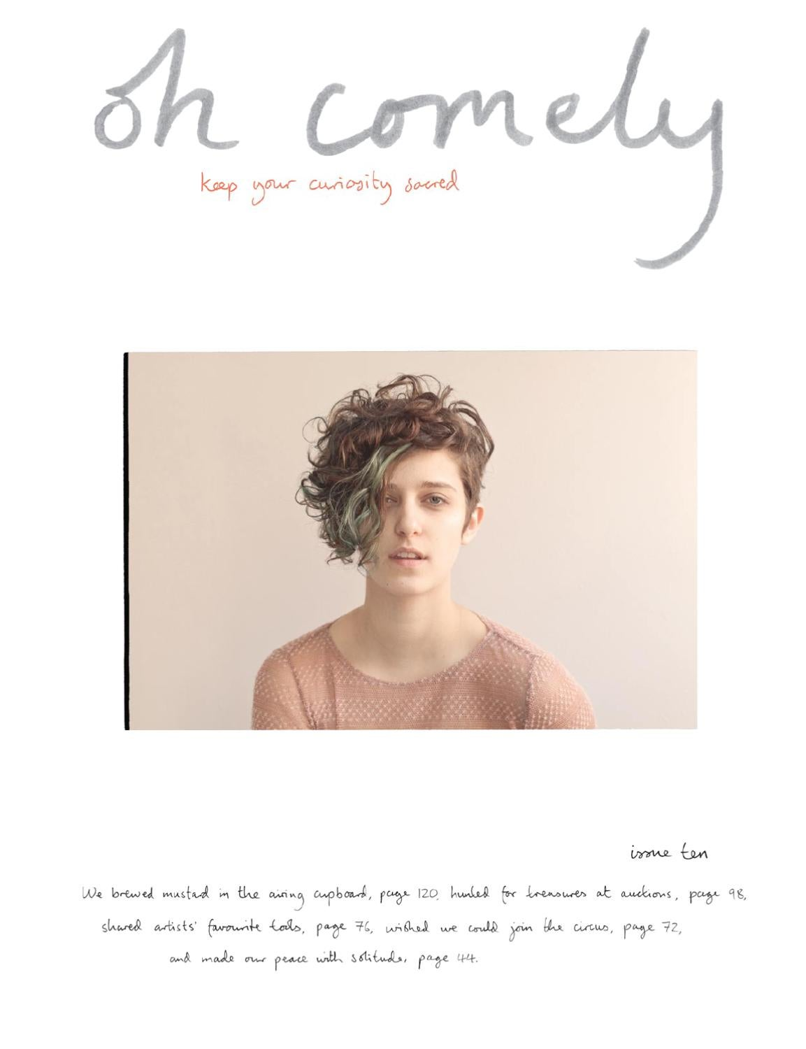 60264dfc8c6 Oh Comely magazine issue 10 by oh comely magazine - issuu