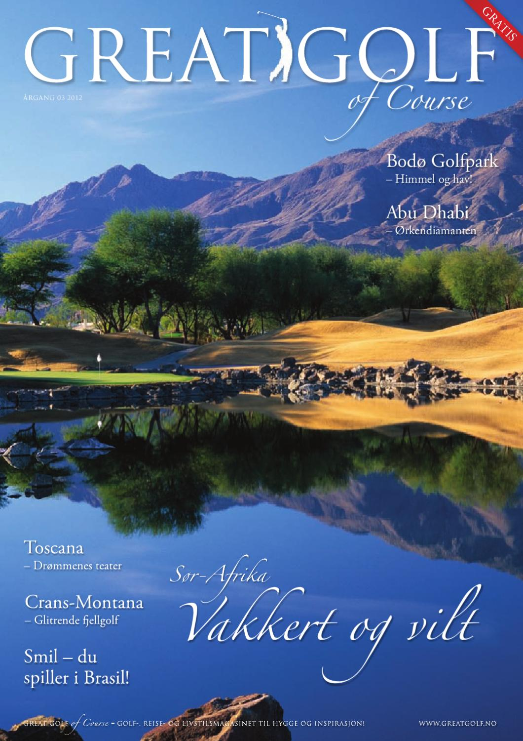 great golf of course 2012 by anette bjerve issuu
