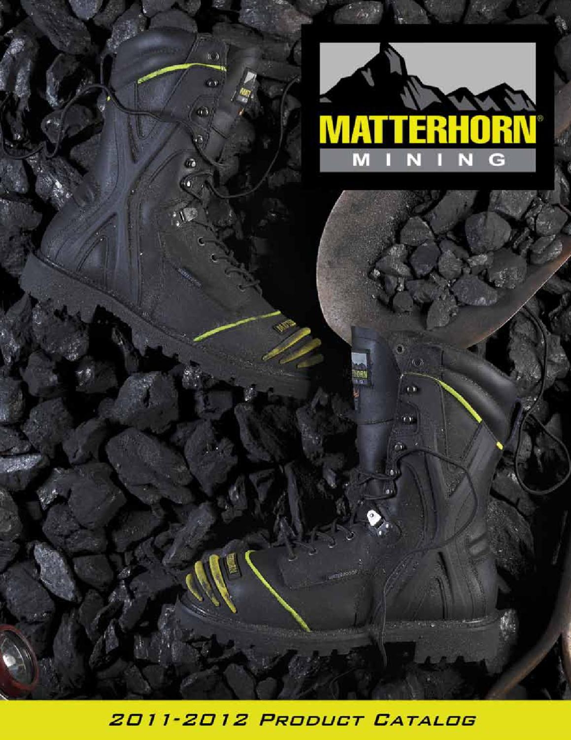 9930351ad0f Matterhorn Mining Footwear by H.H. Brown Work & Outdoor Group - issuu