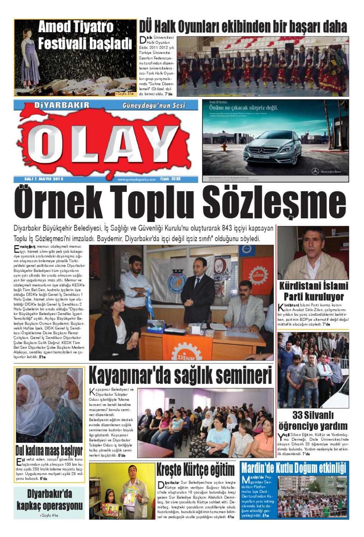 01 05 2012 Gazete Sayfalari By Diyarbakir Olaygazetesi Issuu