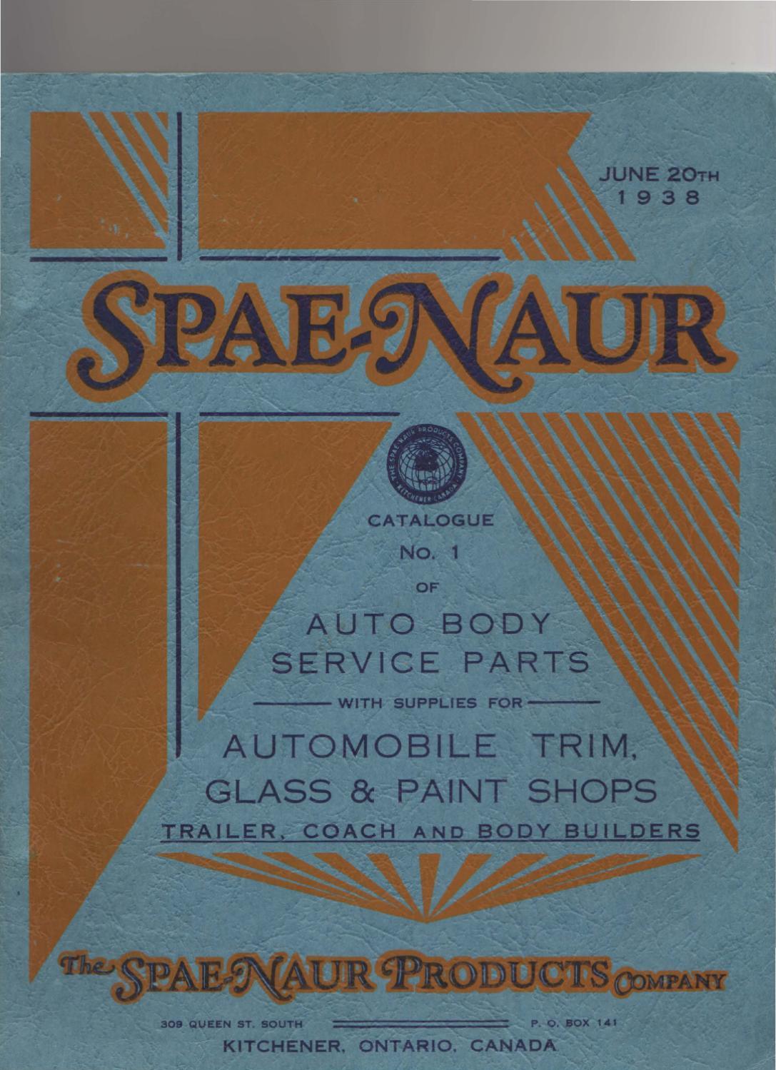 Spaenaur Catalog #1 by Spaenaur Inc. - issuu