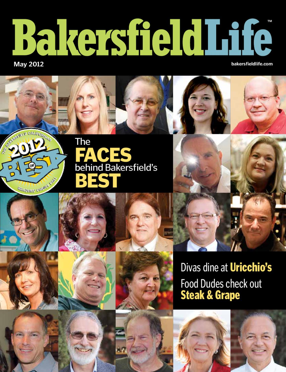 Bakersfield life magazine may 2012 by tbc media specialty for Bakersfield home magazine