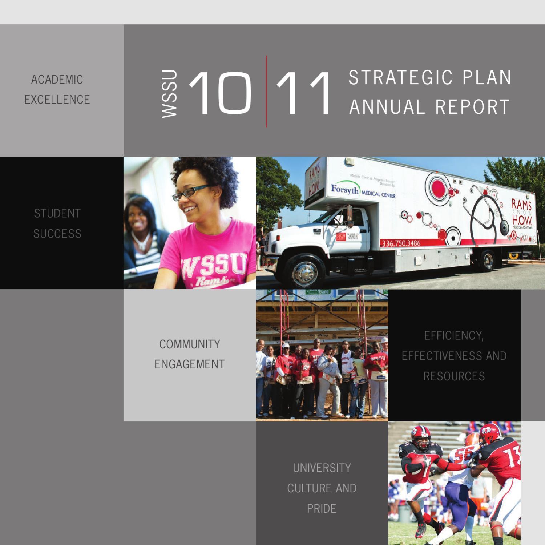 WSSU Annual Report 2009 - 2010 by Sigrid Hall-Pittsley - issuu