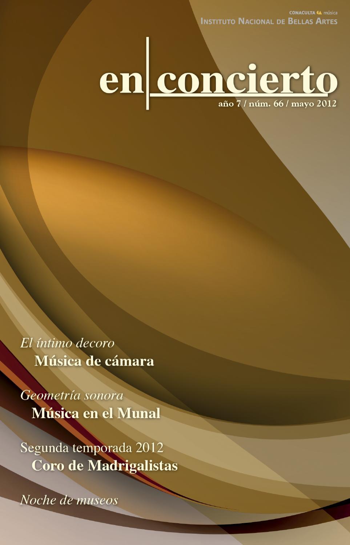 En Concierto Mayo 2012 By Hugo Crespo Issuu