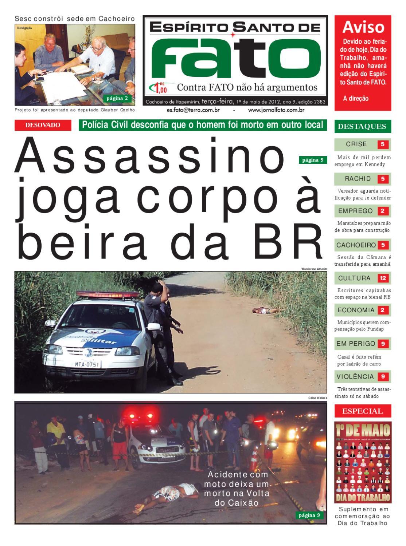 Edição 2.383 by Jornal Fato - issuu 311dc63d90
