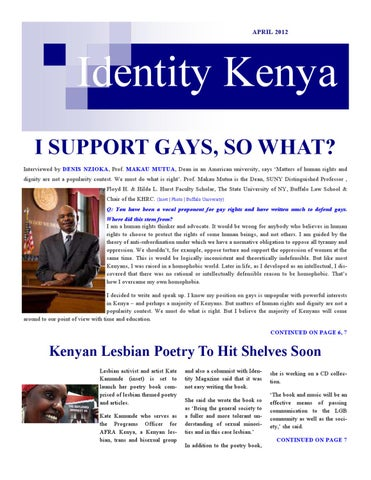 Barrack muluka homosexuality in christianity