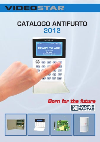 Videostar catalistino antifurto maggio 2012 by dat sas issuu for Catalogo bricoman misterbianco