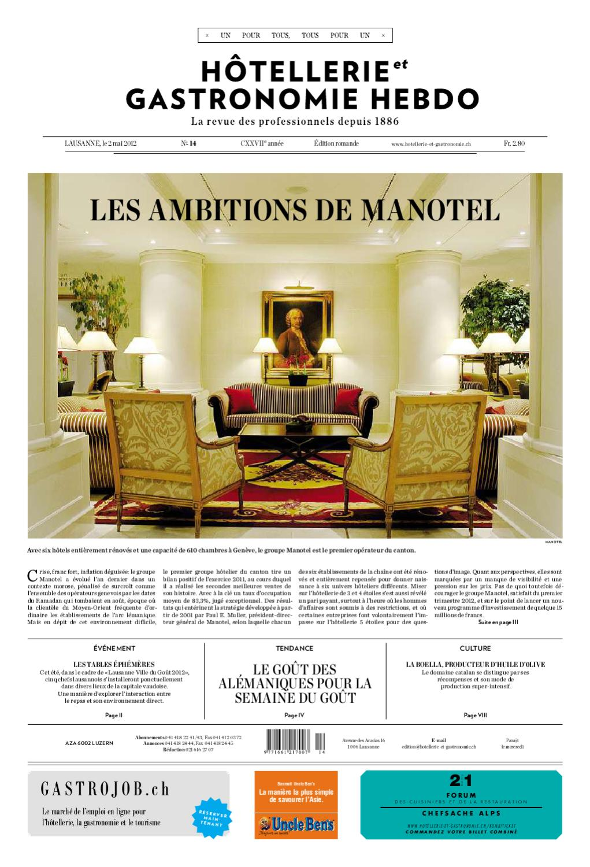 a26f11d2e03a09 HetG-Hebdo 14 2012 by Hotellerie Gastronomie Verlag - issuu