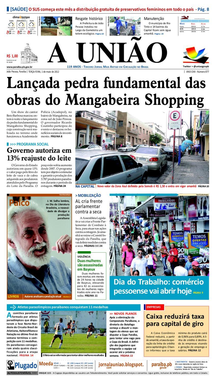 f0592f3a6dc8e Jornal A UNIÃO by Jornal A União - issuu