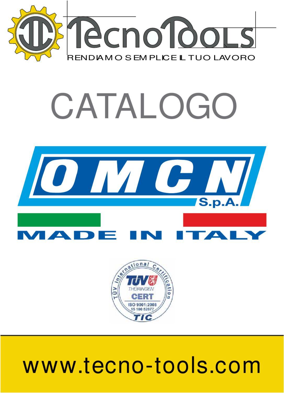 Catalogo OMCN by Tecno-Tools - issuu